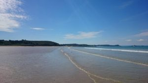Saint Pabu beach
